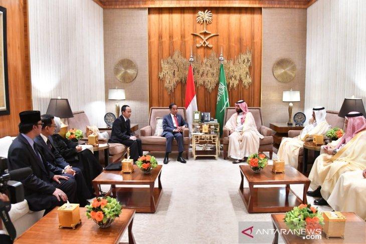 Indonesia-Arab Saudi sepakat lakukan pertemuan setahun sekali.
