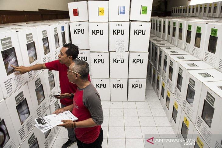 Distribusi logistik Pemilu 2019