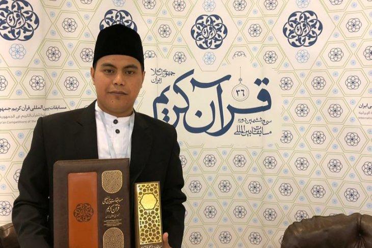 Qori Indonesia meraih juara pertama MTQ Internasional Iran