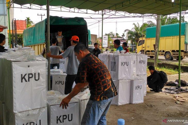 KPU Batanghari selesaikan distribusi logistik semua kecamatan