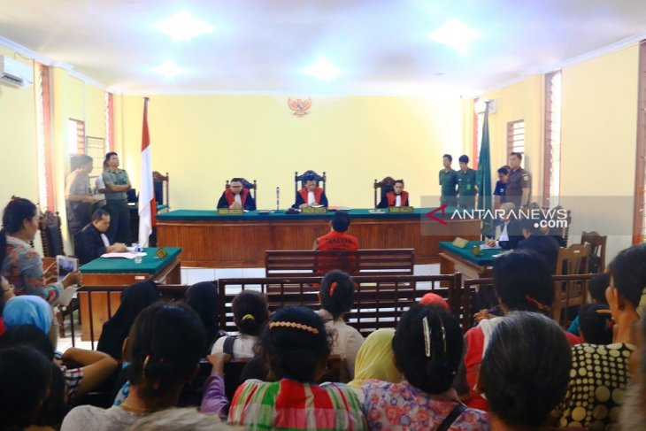 Usai sidang, lokasi penahanan mantan Bupati Tapteng Bonaran dipindahkan