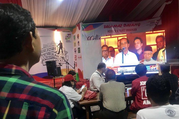 Pendukung Jokowi