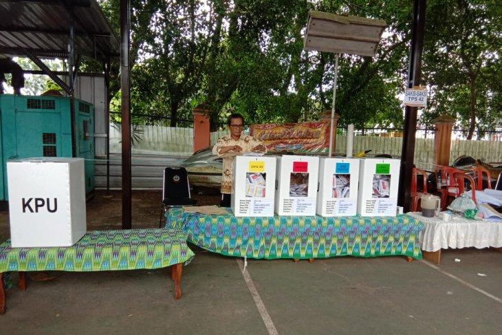 Prabowo ungguli Jokowi di TPS Gubernur Sulsel