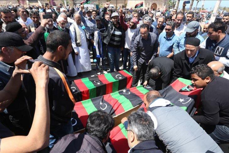 Menurut WHO: Pertempuran menewaskan 220 orang di ibu kota Libya