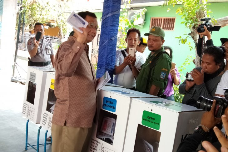 Presidential elections' winner to be declared on May 22: Mahfud