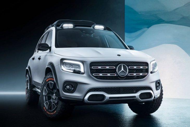 Mercedes-Benz siapkan SUV tujuh penumpang terbaru