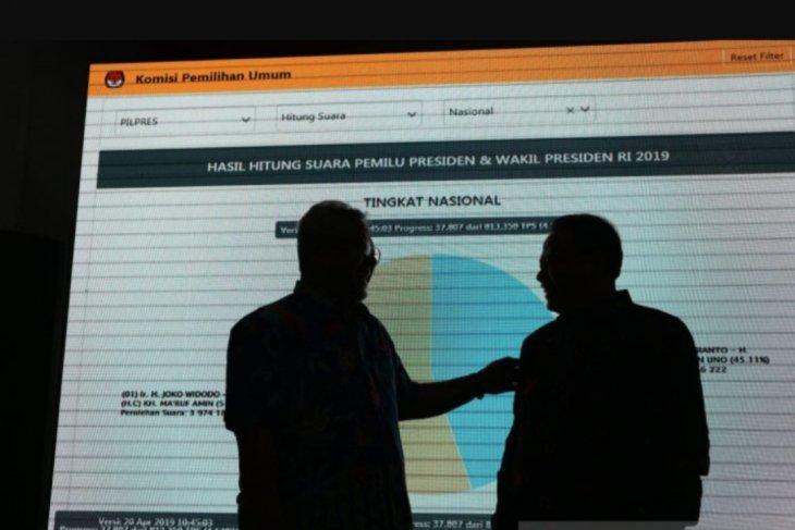KPU RI resmikan pusat informasi rekapitulasi suara Pemilu 2019