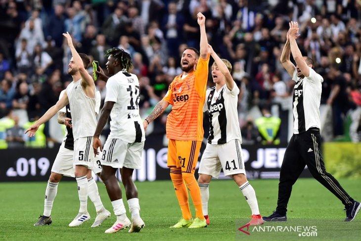 Juventus pastikan gelar juara Serie-A delapan musim secara beruntun