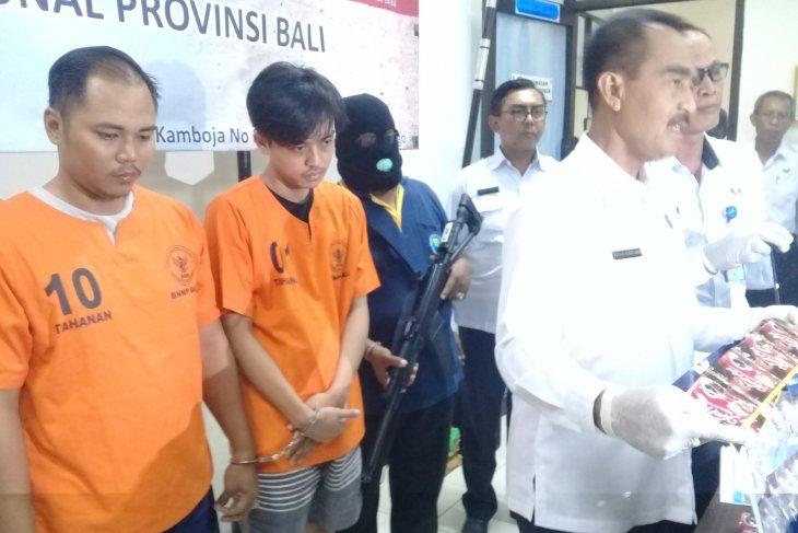 BNNP Bali tangkap sipir jadi kurir narkoba (video)