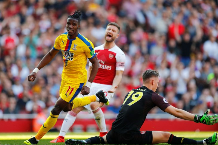 Crystal Palace permalukan Arsenal 3-2