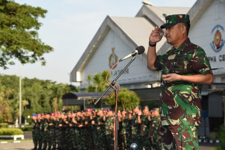Komandan Kodiklatal pimpin apel khusus pasca-pemilu