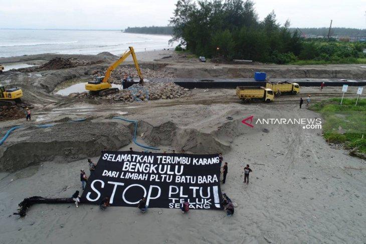 Aktivis: Hentikan PLTU batu bara, selamatkan terumbu karang Bengkulu
