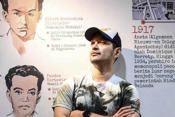 Aktor Indonesia Evan Sanders berharap bisa kumpul keluarga saat Lebaran