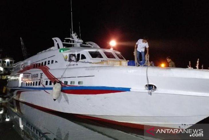 Kapal cepat rute Bangka - Belitung alami gangguan mesin saat berlayar