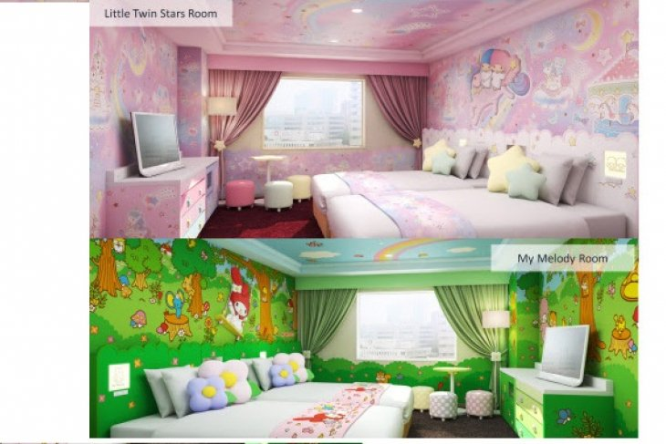 Keio Plaza Hotel Tama opens My Melody, Little Twin Stars rooms on June 15, 2019 - sweet Dreams in Our Hello Kitty and Sanrio Character Rooms