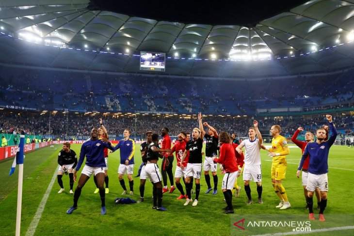 Hasil Piala Jerman, Leipzig tantang Muenchen di final