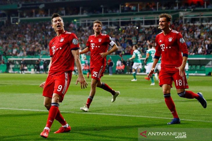 Muenchen lewati Bremen menuju final Piala Jerman