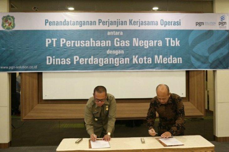 PGN - Pemkot Medan kerja sama bidang peneraan meter gas
