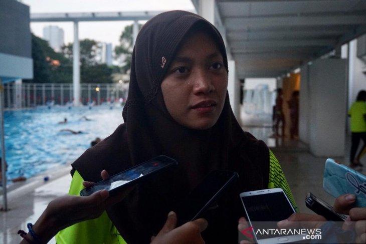 Perenang Larasati pertajam rekornas 100m kupu-kupu putri