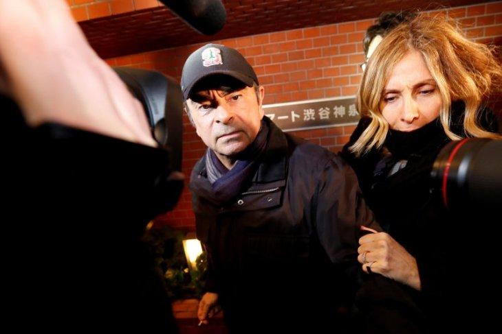 Istri Ghosn sebut surat penangkapan adalah balas dendam