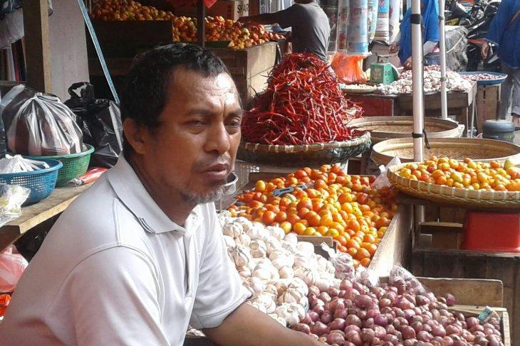 Harga bawang merah di pasar tradisional Ambon naik