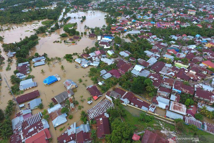 KLHK: banjir Bengkulu akibat curah hujan tinggi dan rob