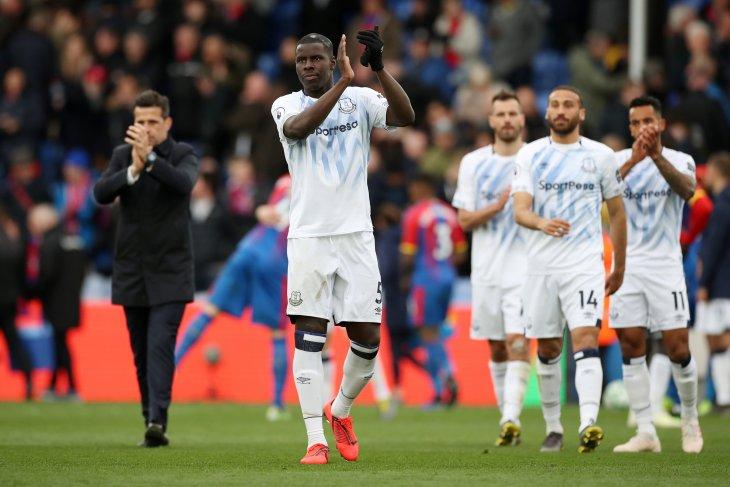 Harapan Everton ke Liga Europa buyar dihambat Palace
