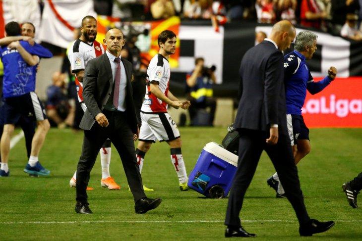 Zidane geram Madrid dikalahkan Rayo Vallecano
