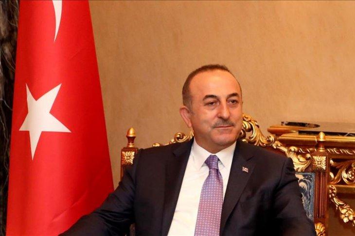 Menlu Turki puji gerbang perbatasan baru dengan Irak