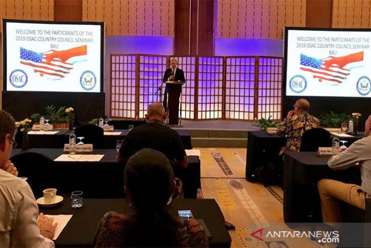 Konjen Amerika resmikan dewan penasihat keamanan luar negeri cabang Bali
