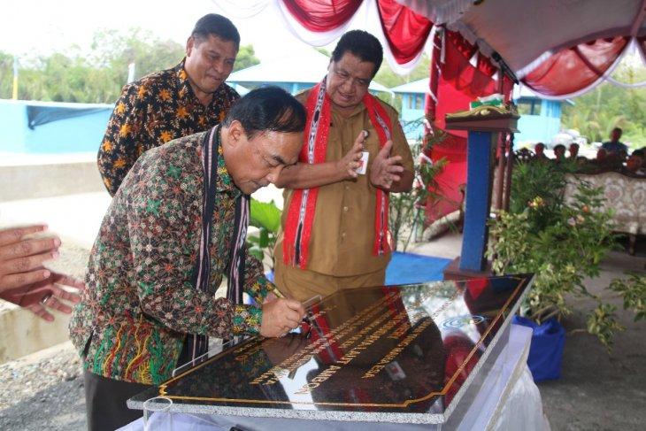 KKP meresmikan pembenihan ikan laut modern di Ambon
