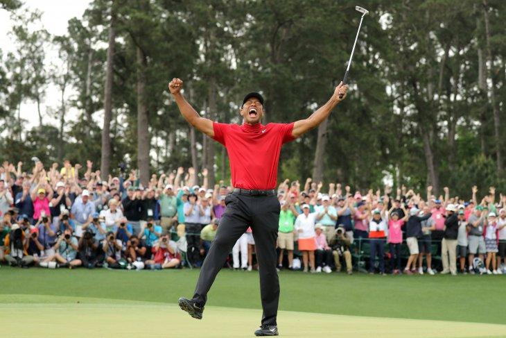 Tiger Woods dianugerahi Medali Kebebasan oleh  Trump