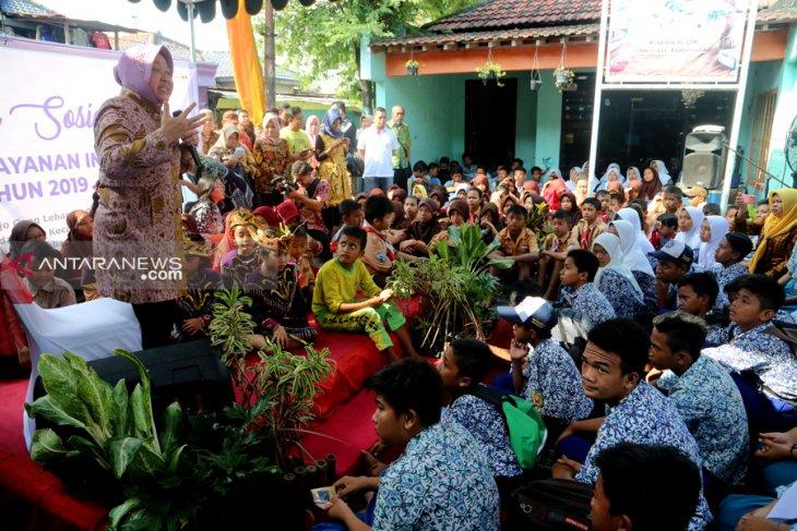 Wali Kota Surabaya motivasi warga eks lokalisasi Moroseneng Surabaya