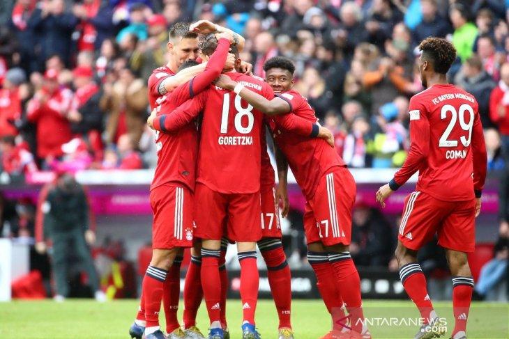 Bayern Muenchen unggul empat poin di puncak klasemen bola Liga Jerman