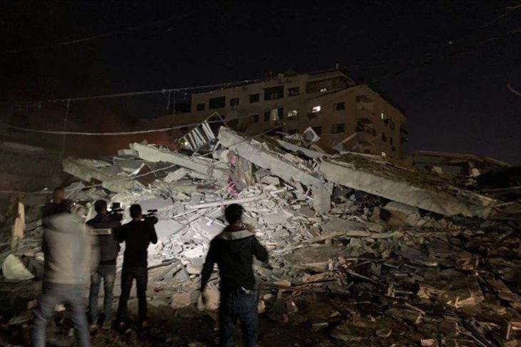 ANTARA condems Israeli attack on Anadolu Agency office in Gaza
