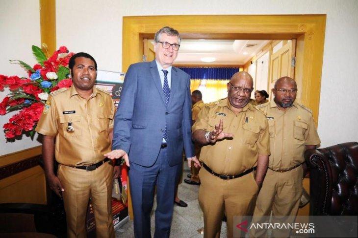 German Ambassador Peter Schoof pays visit to Papua