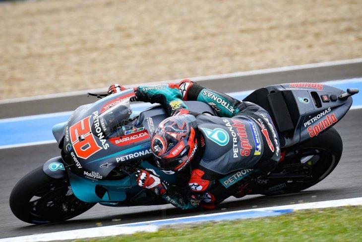 Quartararo kembali tercepat di tes Motogp Jerez