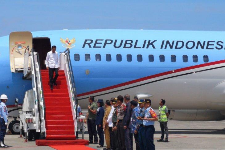 Presiden Jokowi kunjungan kerja ke Provinsi Kalimantan Timur