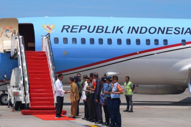 Presiden Jokowi kunjungan kerja ke Kalimantan terkait pemindahan ibukota