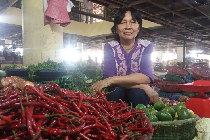 Hari kedua Ramadhan, harga cabai merah di Medan melonjak Rp78.000/Kg