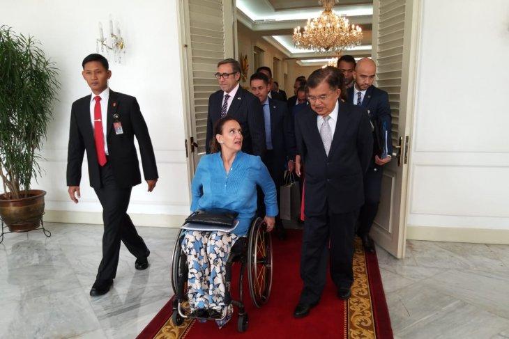 Vice President of Argentina Michetti pays courtesy call to Kalla