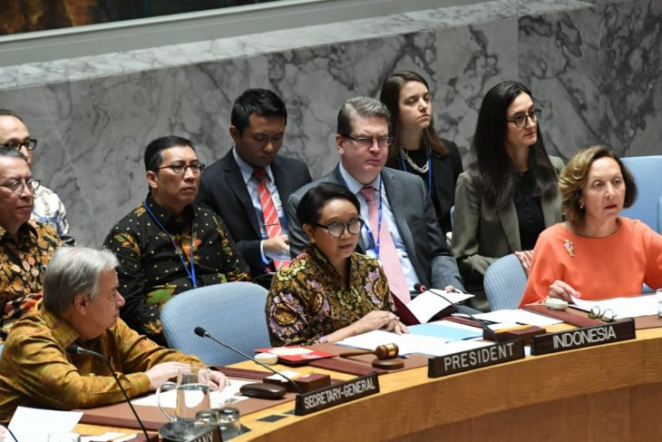 Indonesia promotes discussion on Palestinian issue at UNSC