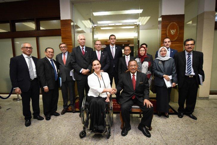 Indonesia dan Argentina dorong kerja sama bidang ekonomi