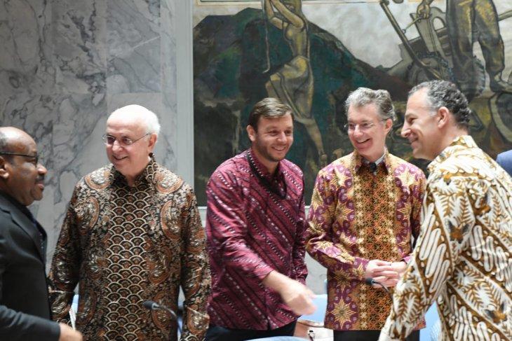Batik makes strong presence at UN Security Council open debate