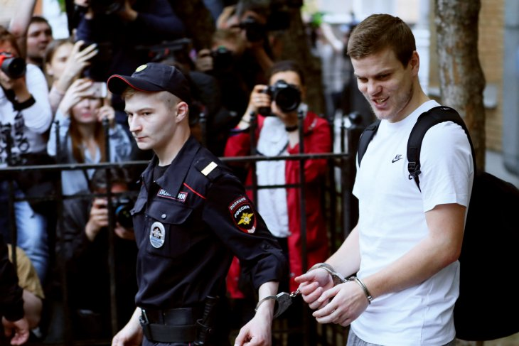 Terlibat penganiayaan dua pesepak bola Rusia masuk penjara