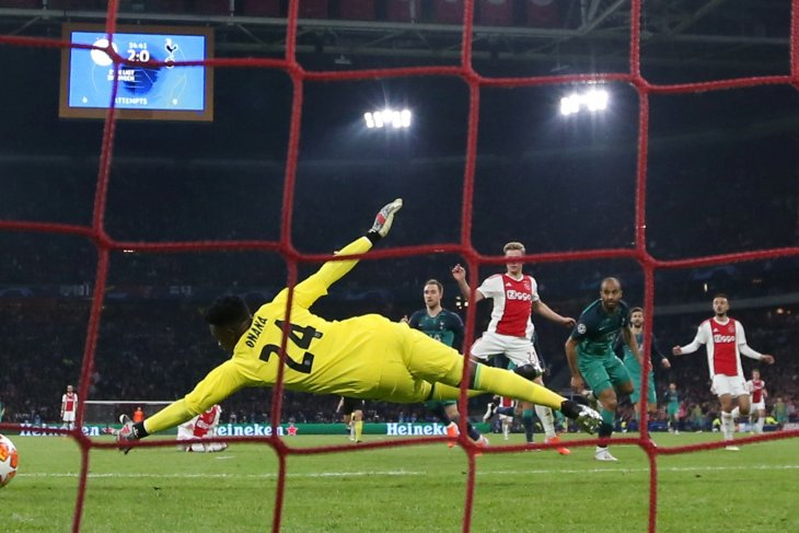 Lucas Moura antar Tottenham singkirkan Ajax