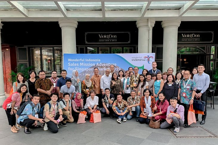Indonesia logs Rp13.8 in Sales Mission Adventure Singapore