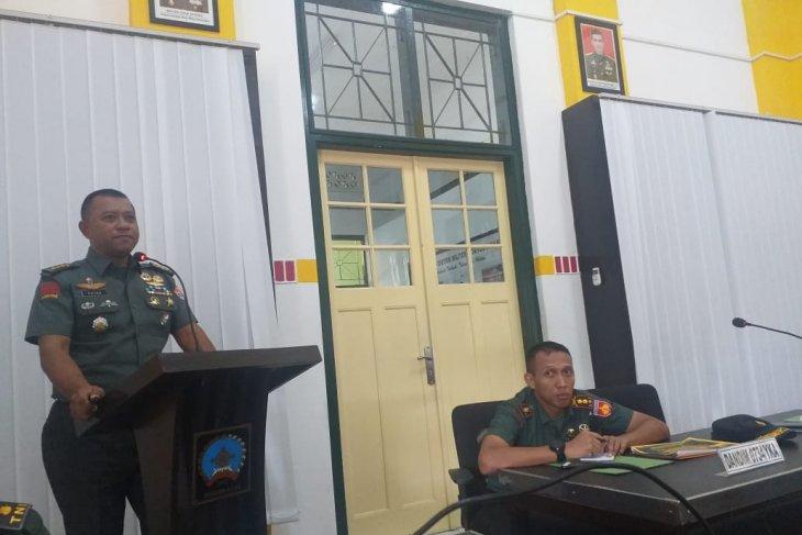 Kolonel Putra ingin Kodim ciptakan hal baru dalam bidang Bakti TNI