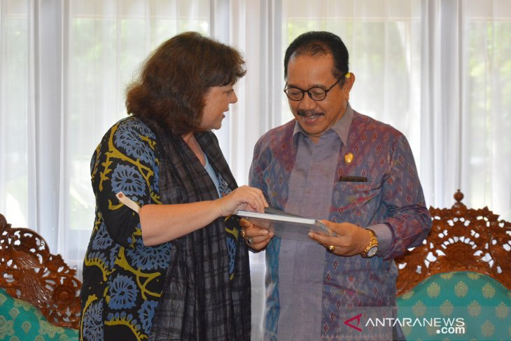 German commends Bali on disaster management preparedness