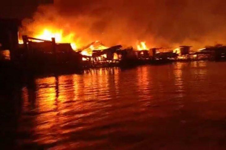 Kebakaran pemukiman penduduk kembali landa Tanjabtim